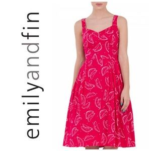 Modcloth's Emily and Fin Valerie Watermelon Dress